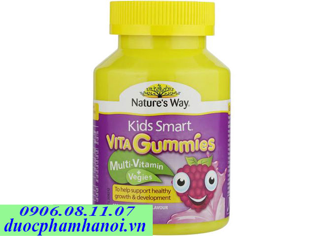 Nature's way kid smart vita gummies 120 viên