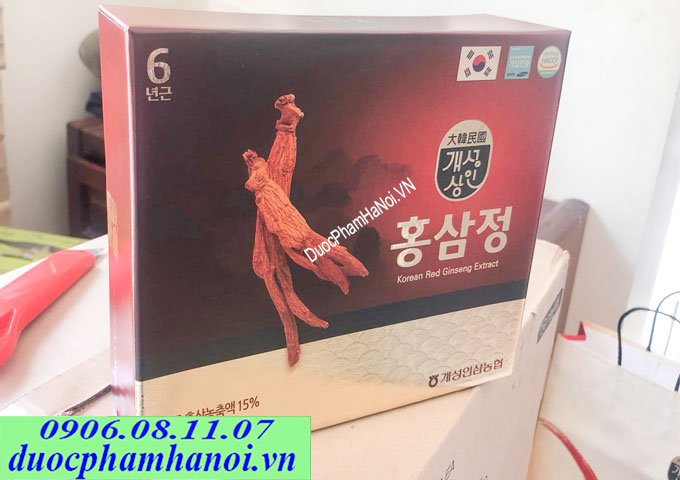 Cao hồng sâm 2 lọ Korean Red Ginseng Extract