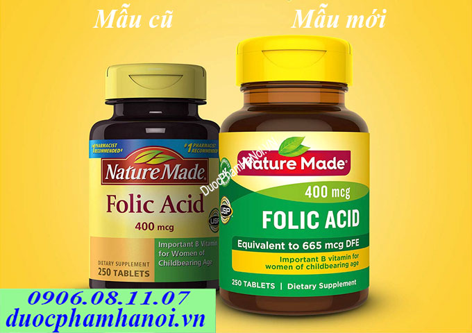 Nature made acid folic
