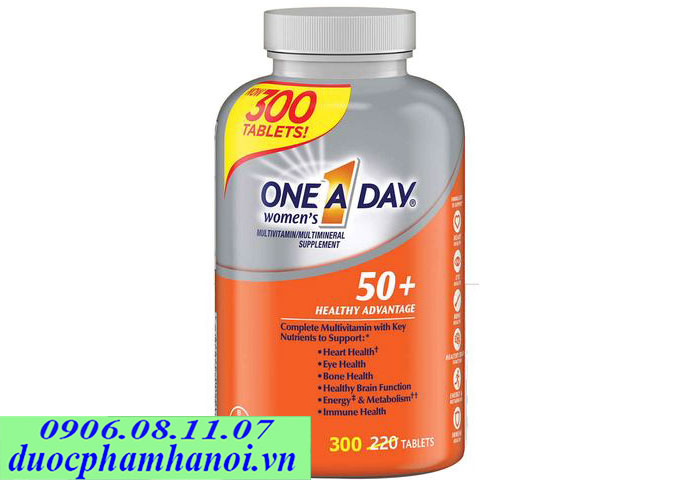 One a day women 50+