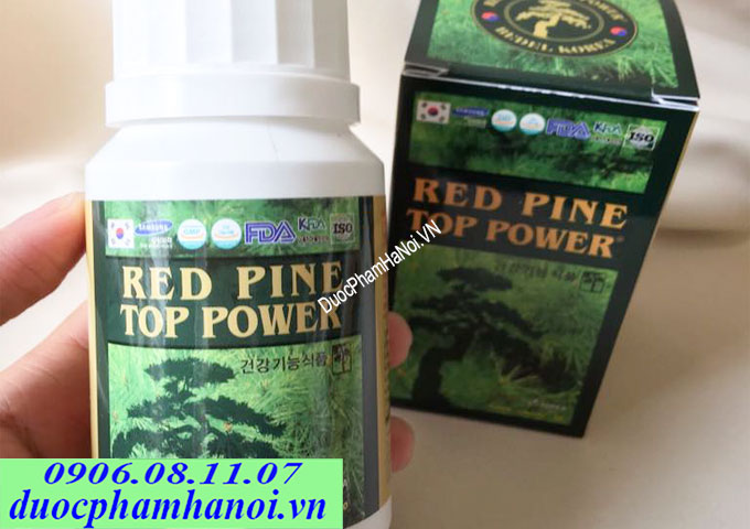 Red Pine Top Power