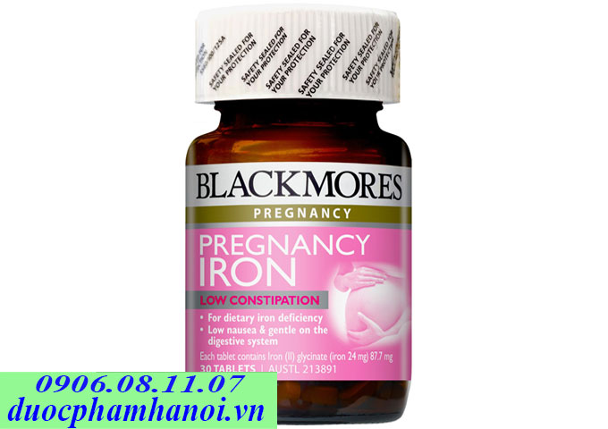 blackmores pregnancy iron
