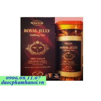 Sữa ong chúa optimal health royal jelly 1600mg net weight
